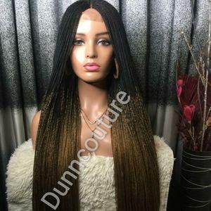 Braided Ombre wig,Handbraided wig,Women wig